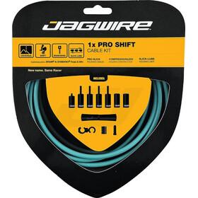 Jagwire 1X Pro Shift set de cable de cambio, Turquesa